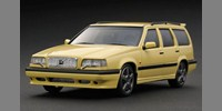 Volvo 850 Street yellow