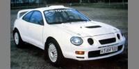 Toyota Celica GT-Four Testcar white
