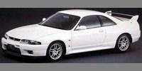 Nissan Skyline R33 GT-R V-spec N1 white