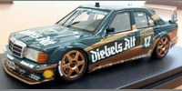 Mercedes 190E Diebels Alt DTM 92 No.17 Asch