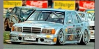 Mercedes 190E Berlin 2000 DTM 92 No.6 Rosberg