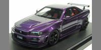 Nissan Nismo R34 GT-R Z-tune midnight purple