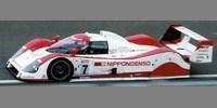 Toyota TS010 Nippondenso Le Mans 92 No.7 Lees / Brabham / Katay.