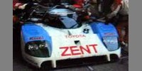 Toyota TS010 Zent 8th Le Mans 92 No.8 Lammers / Wallace / Fabi