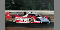Toyota TS010 4th Le Mans 93 No.36 Irvine / Suzuki / Sekiya