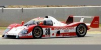 Toyota TS010 8th Le Mans 93 No.38 Lees / Lammers / Fangio