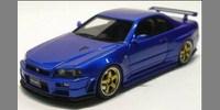 Nissan Nismo R34 GT-R S-tune bayside blue
