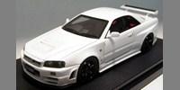 Nissan Nismo R34 GT-R Z-tune white