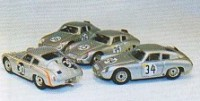 Porsche Carrera Abarth 695 GS 61   34 7. Le Mans 1962  Barth/Herrmann