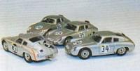 Porsche Carrera Abarth 695 GS 61   36 10. Le Mans 1961  Linge/Pon