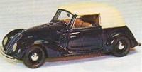 Fiat 1500 Cabrio Viotti      1937