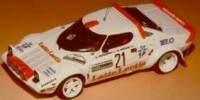 Lancia Stratos Gr.4   St.Nr. 21    Col. Di Romagna 1981 LATTE LACTIS Pietropoli