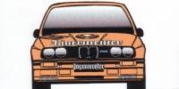 BMW M3   St.Nr. 19    DTM/Avus 1988 JAEGERMEISTER Ketterer