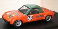 Porsche 914   St.Nr. 78    Nuerburgring 1972 JAEGERMEISTER Schimpf