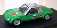 Porsche 914   St.Nr. 186    Wolfenbuettel 1972 JAEGERMEISTER Schimpf