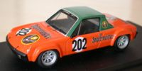 Porsche 914   St.Nr. 202    Hockenheim 1973 JAEGERMEISTER Schimpf