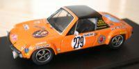 Porsche 914   St.Nr. 279    Monte Carlo 1972 JAEGERMEISTER Schimpf/Zauner