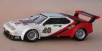 BMW M 1   St.Nr. 40    Procar 1980 NUMERO RESERVE Stuck