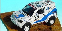 Mitsubishi Pajero T 2 Exceed   St.Nr. 251    Paris/Dakar/Le Caire 2000 HEWLETT PACKARD Fontenay/Picard