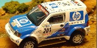Mitsubishi Pajero Evo T 2   St.Nr. 224   2. Paris/Dakar 2001  Masuoka/Maimon