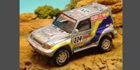 Mitsubishi Pajero T 2 Exceed   St.Nr. 201   6. Paris/Dakar 2001 HP Fontenay/Picard