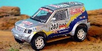 Mitsubishi Pajero T 2 Exceed   St.Nr. 203    Paris/Dakar 2001  Shinozuka/Gallagher