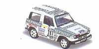 Mitsubishi Pajero   St.Nr. 247    Paris/Dakar 1984 ARJOMARI Maitrot