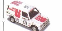Mitsubishi Pajero lang   St.Nr. 336   65. Paris/Dakar 1989 ECUREUIL Drobecq