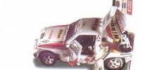 Mitsubishi Pajero   St.Nr. 205   2. Paris/Dakar 1991 NIKON Lartigue