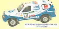 Toyota HDJ 60   St.Nr. 333    Paris/Dakar 2004