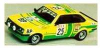 Ford Escort II RS 2000   St.Nr. 25    Marokko 1976 BP Chasseuil/Chonez