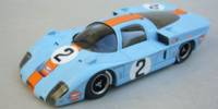 Mirage Gulf M.2 Coupe   St.Nr. 1/2    Spa 1969  Ickx