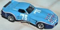Chevrolet Corvette Old Blue   St.Nr.