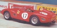 Ferrari 250 TR 59   St.Nr. 17   2. Le Mans 1960  R.Rodriguez/Pilette