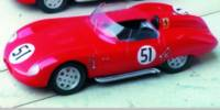 Osca 750 S   St.Nr. 51   Ausf Le Mans 1959  Rodriguez/Rodriguez