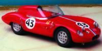 Osca 1000 S   St.Nr. 43   Ausf Le Mans 1961  Cunningham/Hughes
