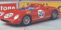 Ferrari 275P   St.Nr. 20   1. Le Mans 1964  Giuchet/Vaccarella