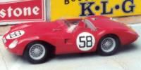 Stanguellini EFAC   St.Nr. 58   20. Le Mans 1957