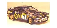 Subaru Impreza Turbo 4 x 4   St.Nr. 2   2. 1000 Seen 1993 555 Vatanen/Berglund