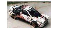 Subaru Impreza Gr.A   St.Nr.     Boucles de Spa 1995 CRACK