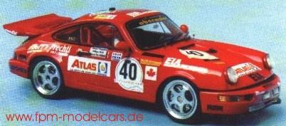 Porsche 911 RSR   St.Nr. 40   22. Le Mans 1993 ATLAS Prechtl/Dillmann/olczyk
