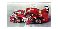 Porsche 911 GT 2   St.Nr. 78   9. Le Mans 1997 SALVADOR DALI Neugarten/Martinolle/Lagniez