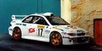 Subaru Impreza WRC   St.Nr. 17   Ausf Monte Carlo 1999  Panizzi/Panizzi