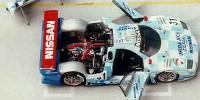 Nissan R 390 GT 1   St.Nr. 32   3. Le Mans 1998 CALSONIC Hoshino/Suzuki/Kageyama