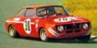 Alfa Romeo GTAJ   St.Nr. 30    Zandvoort 1972  Facetti/Picchi