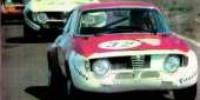 Alfa Romeo GTAJ   St.Nr. 32    Zandvoort 1972  Paco/Boshuis
