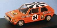 VW Golf LS Gr.1   St.Nr. 24    Rallye Hessen 1975 JAEGERMEISTER Kleint