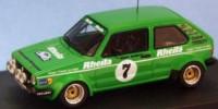 VW Golf Gti Gr.2   St.Nr. 7    3-Staedte Rallye 1981 RHEILA Stock