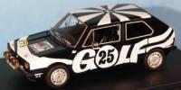 "VW Golf LS Gr.1   St.Nr.     Hessen 1975 GOLF ""black"" Kottulinsky"