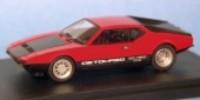 De Tomaso Pantera GTS   St.Nr.     Strasse 1973  schwarze Hauben rot